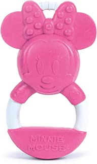 Clementoni 17342 -Disney Minnie New-Born Toys-Baby teether Suitable for 0 Months and Older-Machine Washable and Paint Fre...
