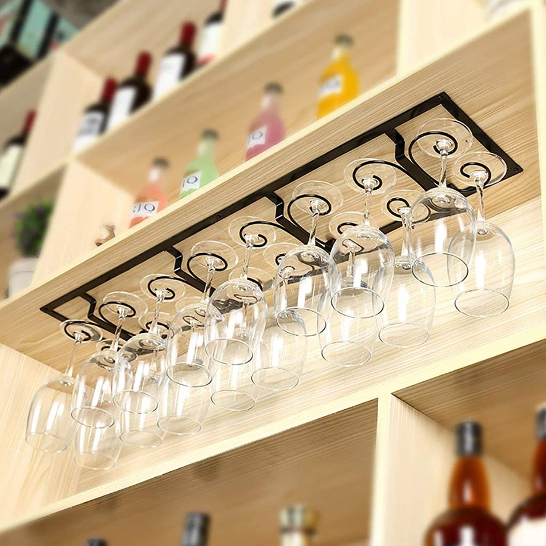alta calidad Soporte para Estante de Vino Soporte para para para Vidrio de Vino, Soporte de Vidrio para Vino, Estante para Vidrio de Vino Soporte para Vidrio de Champán, Soporte de Cristalería, MTX Ltd, Negro, 44  19  venta