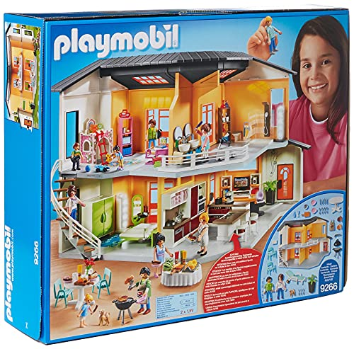 The Modern House playset is one of the new Playmobil playsets that came out last year