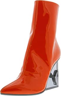 Womens x Fenty by Rihanna Cat Patent Leather Wedge Boot