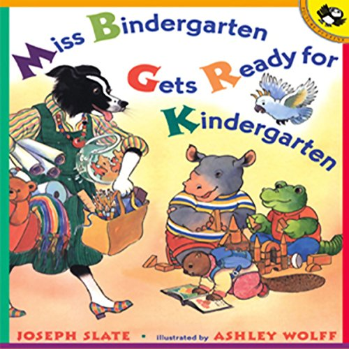 Miss Bindergarten Gets Ready for Kindergarten cover art