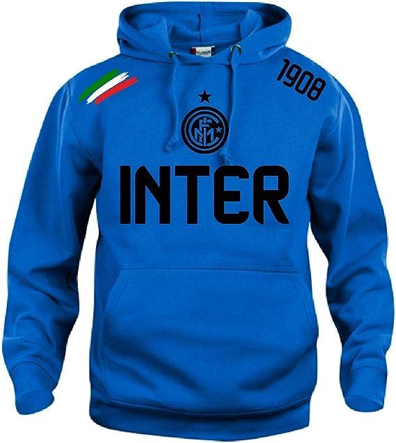 Generico Felpa Tuta Hoodie Tshirt Polo Felpa Maglia Idea Regalo ICARDI NAINGOLANN HANDANOVIC Inter Internazionale FC Inter