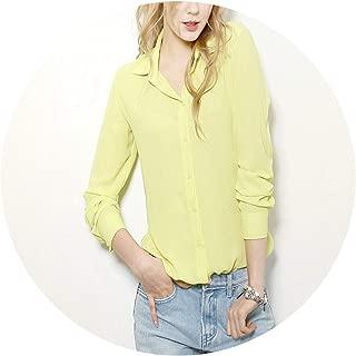 Robert Reyna Nice Women Irregular Collar Regular Blusas Chemise Femme