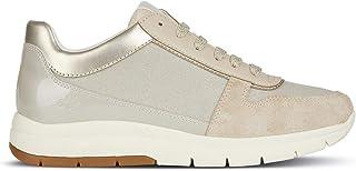 38119f8e092681 Geox Scarpe da Donna Sneaker D CALLYN D in Tessuto Beige D849GD-0EWHI-C0423