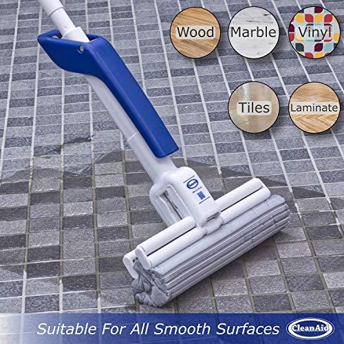 CleanAid OneTouch Magic Sponge Mop