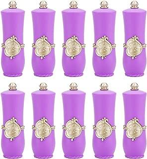 Empty Lipstick Tube, Royal Style DIY Lipstick Empty Container Self-made Lipstick Mold Lip Balm Tubes(Purple)