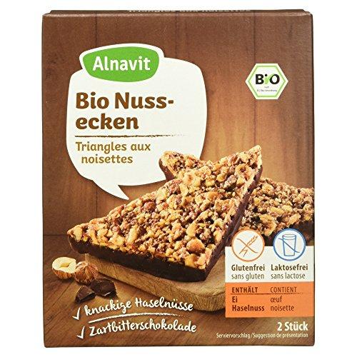 Alnavit Bio Nussecke, glutenfrei, laktosefrei, 6er Pack (6 x 150 g)