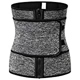 MOOORE Waist Trainer for Women and Man | Corset Waist Cincher Trimmer Sweat Slimming Belly Band...