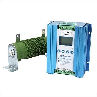 SEDOOM Regulador Híbrido Solar del Regulador De Carga del Viento De Carga del Impulso MPPT, 800 / 600W 24V 58A