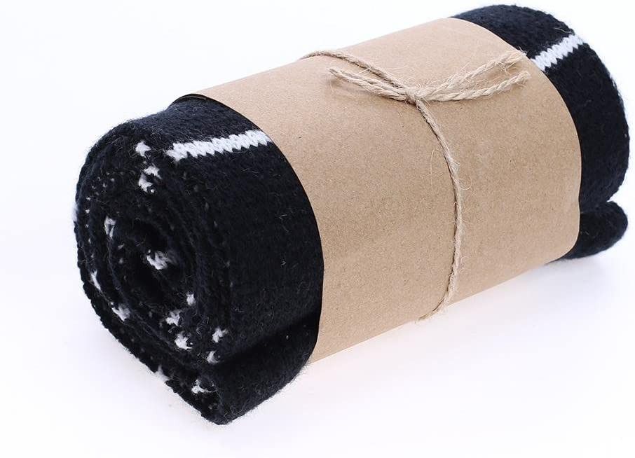 Black amazingdeal Baby Scarf Boys Girls Plain Thicken British-Style Warm Winter Scarves