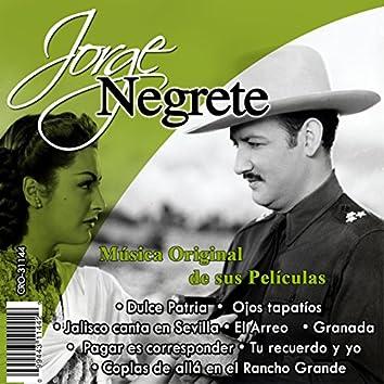 Jorge Negrete el Charro Inmortal Musica Original de Sus Peliculas