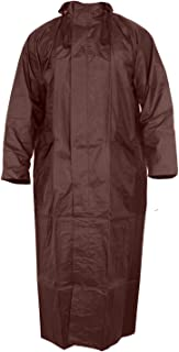 Glamio Women's Over Raincoat (Coffee-Free Size)