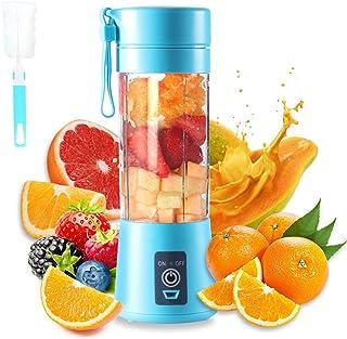 Presse-agrumes portable, mélangeur électrique USB, mini-mélangeur portable pour shakes et smoothies, mélangeur de jus 380 ...