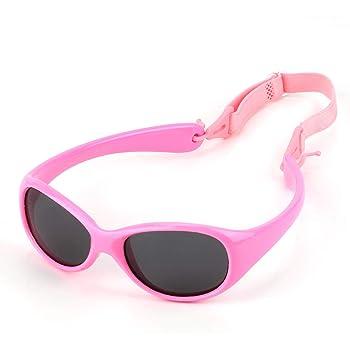 Original Dooky Baby Banz Perfect Peach Baby Sonnenbrille f/ür M/ädchen und Jungen bruchsicheres Glas mit Neoprenband UV-A /& UV-B Schutz orange 0-2 Jahre