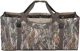 12 Slot Duck Decoy Bag – Slotted Decoy Bags with Independent Slots Adjustable Shoulder Strap Dirt Drain Design for Duck Decoys