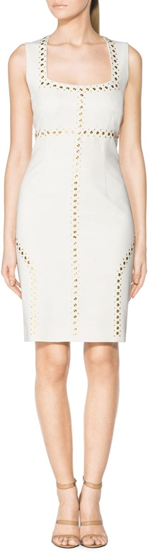 Tamara Mellon Chief Designer Sleeveless Studded Dress