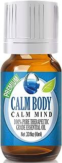 Calm Body Essential Oil - 100% Pure Therapeutic Grade Calm Body Oil - 10ml