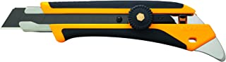 Olfa 1116110 L-5 Fiberglass Rubber Grip Ratchet-Lock Utility Knife