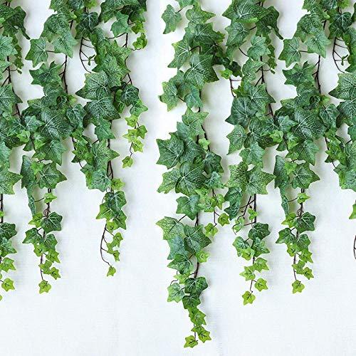 Xqsb Ivy Decoratieve Bloem Kunstmatige Bloem Plant Nep Bloem Woonkamer Opknoping Muur Water Pijp Airconditioning Pijp Blokkeren 1 170Cm