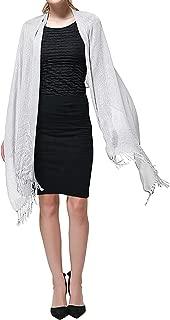 Shawls and Wraps for Evening Dresses, Wedding Metallic Shine Shawl Scarf for Women