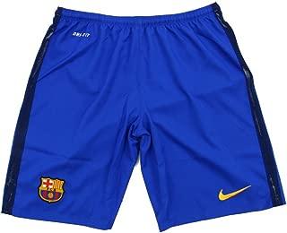 NIKE 2015/16 Mens FC Barcelona Goalkeeper Stadium Shorts [Bright Blue]