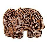 Coco&Coir - Felpudo (45 x 75 cm), Color marrón