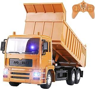 لعبة شاحنة ألعاب إلكترونية من كابمور لعبة مركبة مركبة مركبة مركبة من صوتيات وضوء تحكم عن بعد من كابمور أفضل هدية للأطفال