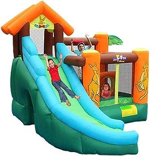 Daxiong Castillo Inflable para niños Kangaroo trampolín trampolín Inflable hogar Travieso Castillo Parque Infantil trampolín