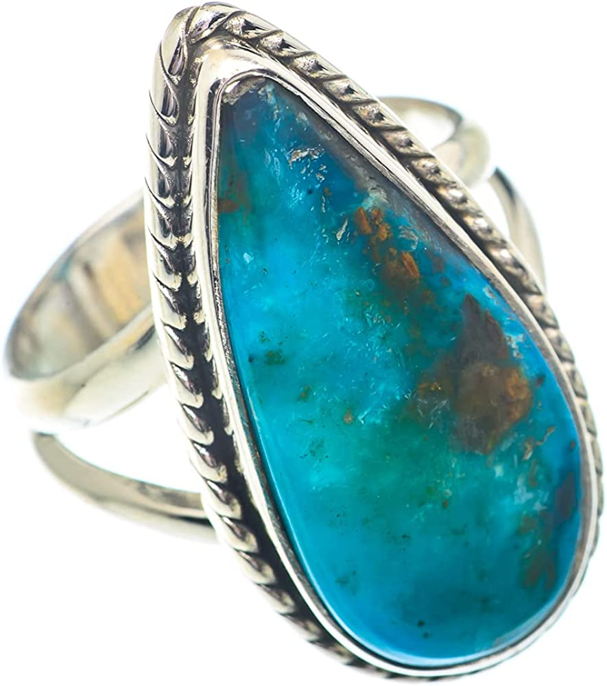 Ana Silver Co Peruvian Reservation Opal Boston Mall 925 Size 6.75 Ring Sterling