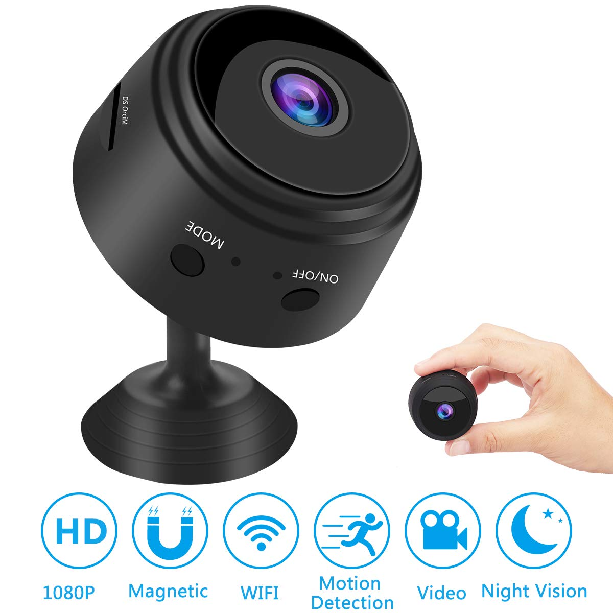 Home Security Video Camera Night Vision Motion Activated Wireless