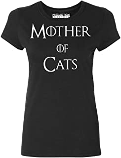 P&B Mother of Cats Funny Women's T-Shirt