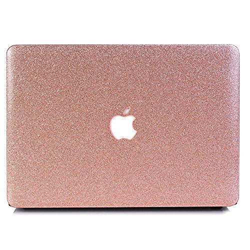 MacBook Air 13 Case, AQYLQ MacBook Air 13.3 inch Smooth Plastic Hard Shell Protective Case Cover for Apple Laptop MacBook Air 13' (Model: A1369/A1466) - Rose golden