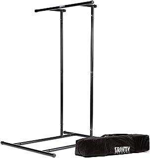 Gravity Fitness draagbaar rek voor lichaamsgewicht en optrekken, perfect voor thuis fitness, calisthenics, crossfit en lic...