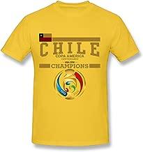 TTATT Men's 2016 Chile Copa America Champions Crew-Neck Casual T Shirt