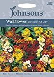 Johnsons 13620 Flower Seeds, WallFlower Monarch Fair Lady, Mixed