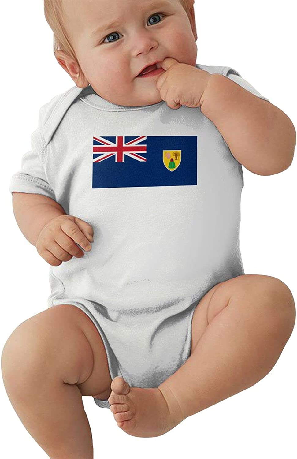 Many popular brands Flag Of The Turks Genuine Free Shipping And Caicos Jumpsuit Lslanda Warm Keeps Infant