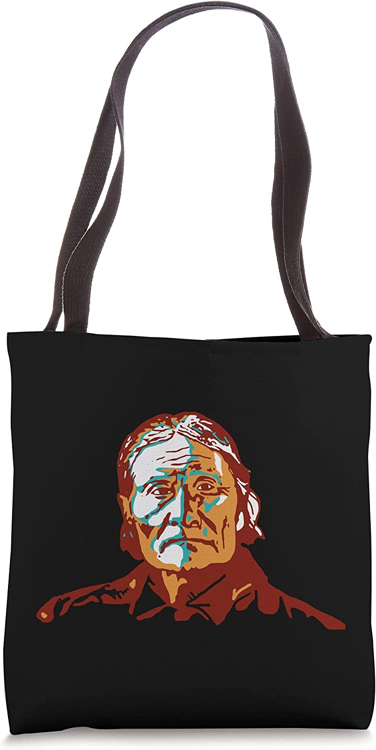 Geronimo Apache Native American Indian Turquoise Southwest Tote Bag