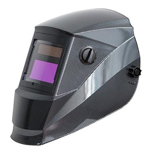 Antra Welding Helmet Auto Darkening AH6-260-001X, Dual Power Solar+ Lithium, Wide Shade Range...