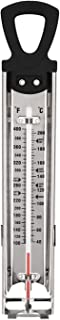 Candy thermometer/digital with clip/maple syrup thermometer/Jam/Sugar/Syrup Thermometer, Stainless Steel Glass Candy Thermometer With Hanging Hook and Non-toxic Aviation Kerosene Rod Core