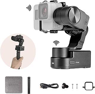 FeiyuTech Feiyu WG2X GoPro Hero 7の3軸GoProジンバル防滴カメラスタビライザーミニ三脚とGoPro Sessionアダプターを備えたSony RX0 YI 4K SJCAM AEEアクションカメラ