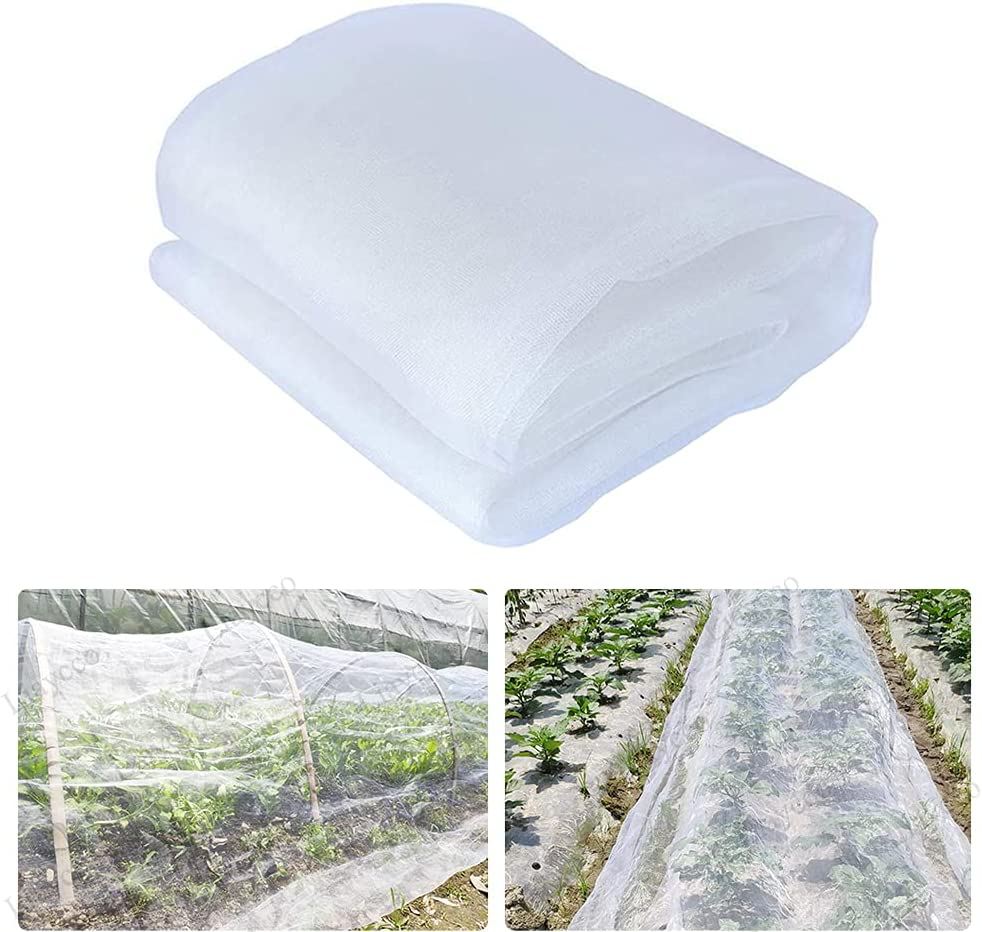 Insect Netting for Garden - 10 x 33Ft Plant Bug Net, Plant Covers Bird Barrier Ultra Fine Mesh Protection Netting for Vegetable Plants Fruits Flowers Crops Greenhouse, Net Cover… : Everything Else