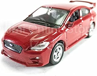 Welly 1:60 Die Cast 2015 Subaru WRX STI Car Red Color Model Collection Christmas New Gift