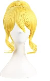 MapofBeauty Yellow Split Ring Type Allot Cosplay Wigs