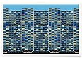 JUNIQE® Architekturdetails Wolkenkratzer & Hochhäuser