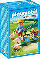 Playmobil プレイモービル 6141 - Boy with Ducks and Geese on the Pond [並行輸入品]
