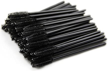 DDLBiZ New 50 pcs Disposable Eyelash Brush Mascara Wand Applicator for Eyelash Extension by buyonline