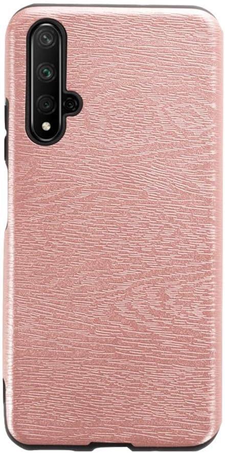 Huawei Honor 20 Coque Coque arri/ère en cuir TPU souple r/ésistant aux rayures et aux chocs en caoutchouc de silicone Bumper Luxe Full Body Housse de protection pour Huawei Nova 5T violet