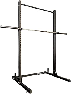 Squat Rack Stand by OVERDRIVE Half Rack Power Rack for Home Gym Workout Fitness