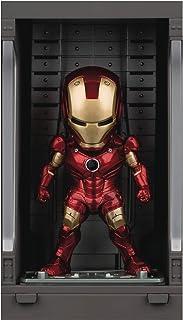 Iron Man 3: Iron Man Mk III with Hall of Armor Mea-015 Mini Egg Attack Figure