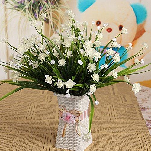 Fleurs Artificielles Fleurs Artificielles Salon Table Décorations Pour la Maison en Pot Ornements Table Basse en Plastique Vert Plantes Bonsaï Mobilier,B